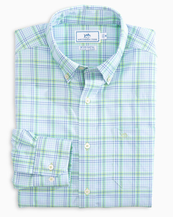 Abound Plaid Intercoastal Sport Shirt