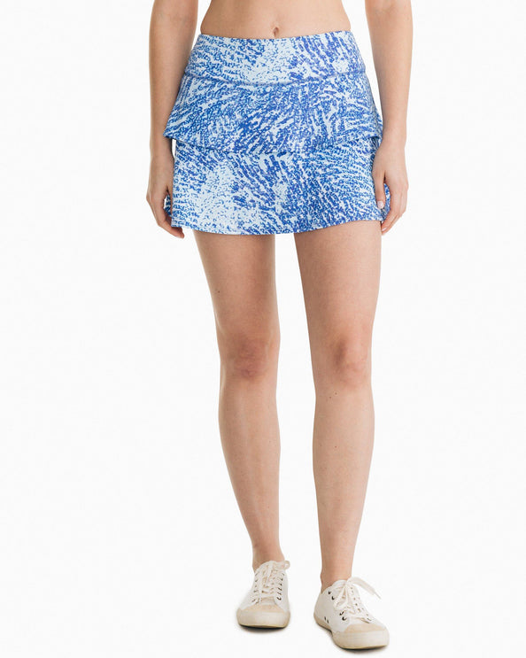 Adelaide Patterned Active Skort