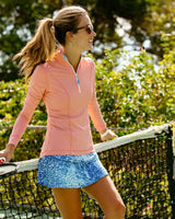 Adelaide Patterned Active Skort | Southern Tide