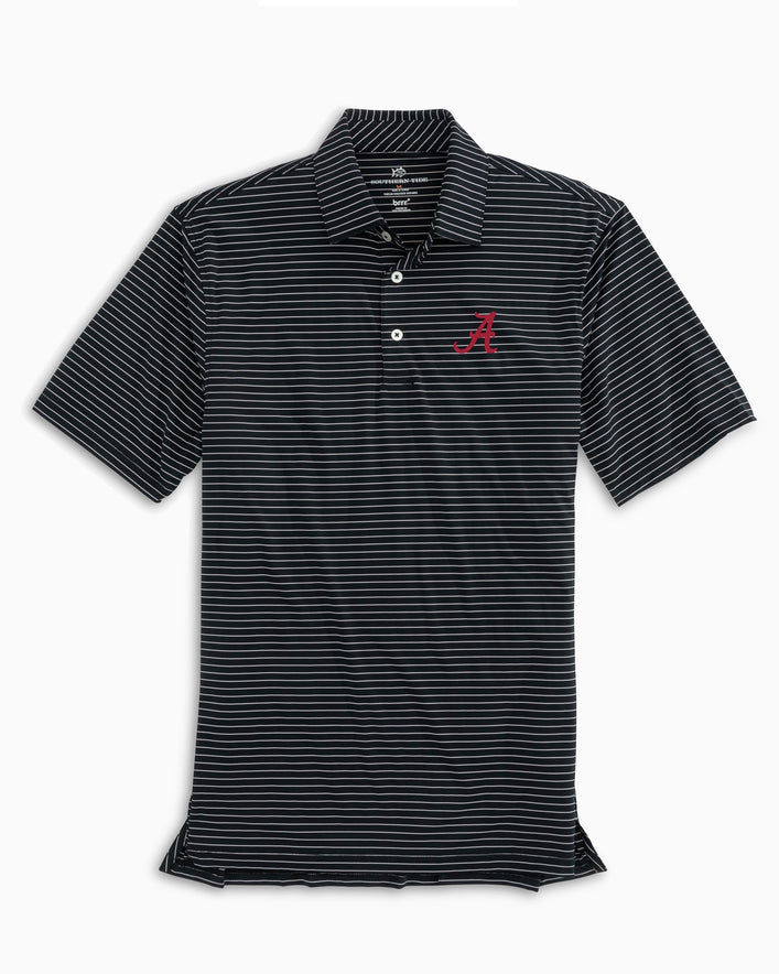 Alabama Crimson Tide BRRR® Striped Polo Shirt