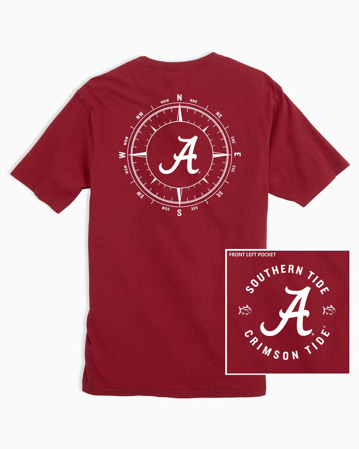 Alabama Crimson Tide Compass T-Shirt