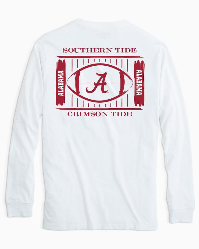 Alabama Crimson Tide Stadium Long Sleeve T-Shirt | Southern Tide