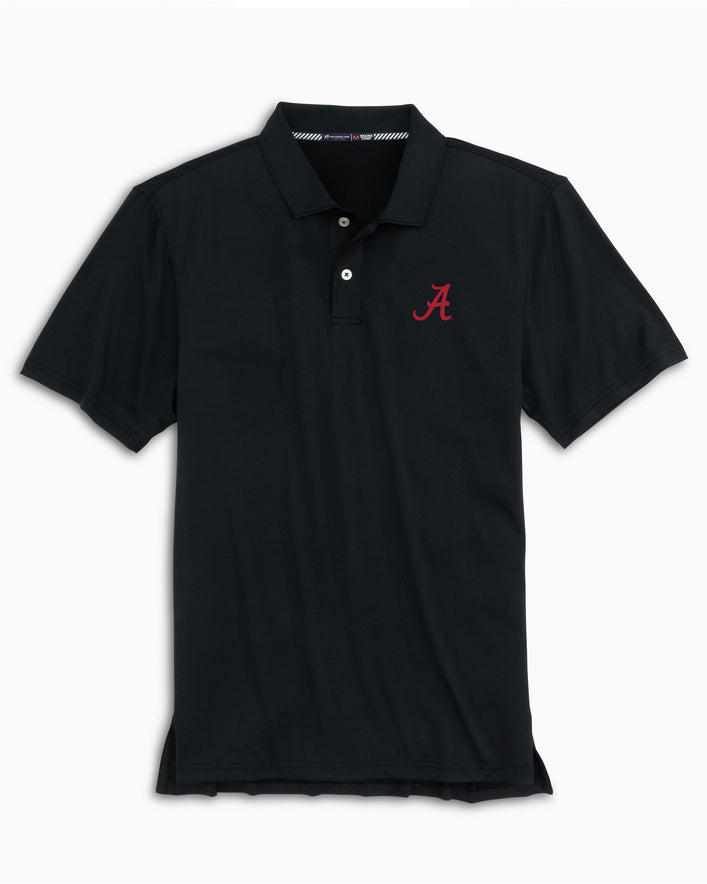 Alabama Crimson Tide Tonal Striped Polo Shirt