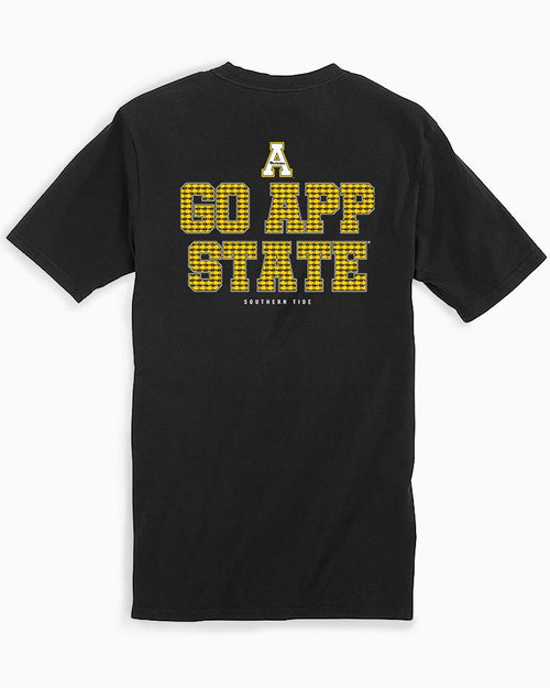 App State Chant Short Sleeve T-Shirt | Southern Tide