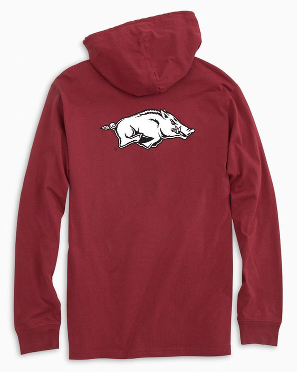 Arkansas Razorbacks Long Sleeve Hoodie T-Shirt