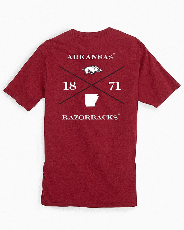 Arkansas Razorbacks Short Sleeve T-Shirt | Southern Tide