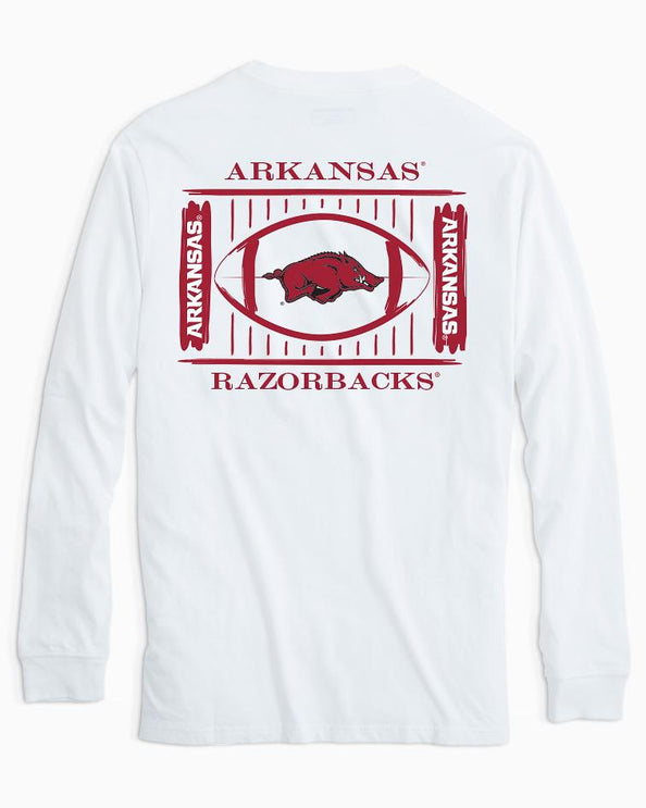 Arkansas Razorbacks Stadium Long Sleeve T-Shirt