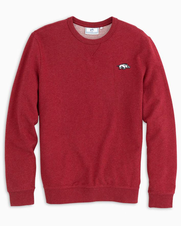 Arkansas Upper Deck Pullover Sweater