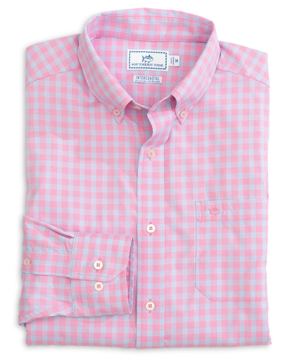 Astern Check Intercoastal Sport Shirt