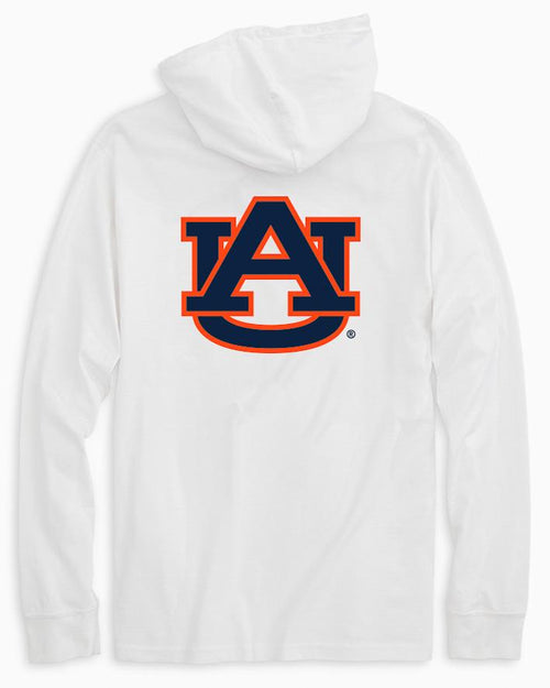 Auburn Tigers Long Sleeve Hoodie T-Shirt | Southern Tide