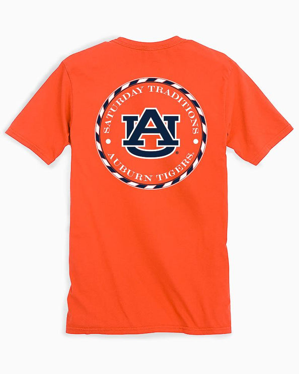 Auburn Tigers Circle Short Sleeve T-Shirt