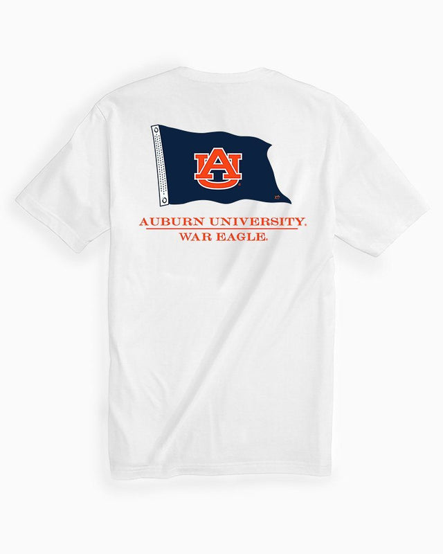 Auburn Tigers Flag Short Sleeve T-Shirt | Southern Tide