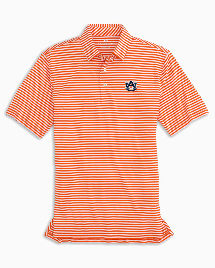 Auburn Tigers Striped Polo Shirt