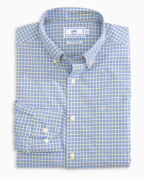 Barnacle Check Intercoastal Sport Shirt | Southern Tide