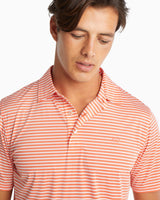Bimini Striped brrr® Performance Polo Shirt | Southern Tide
