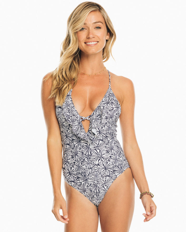 Blossom Ruffle One Piece Swimsuit