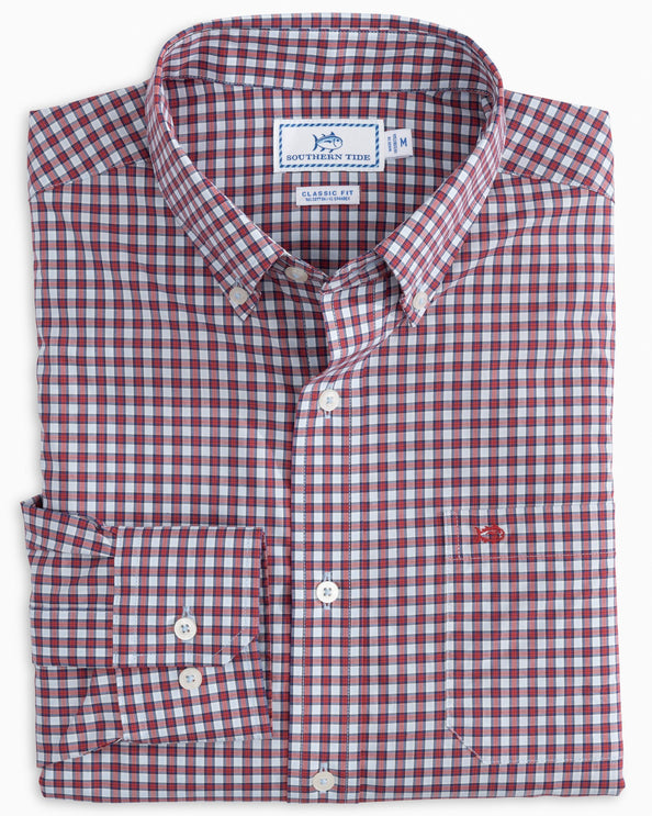 Bluefin Check Button Down Shirt