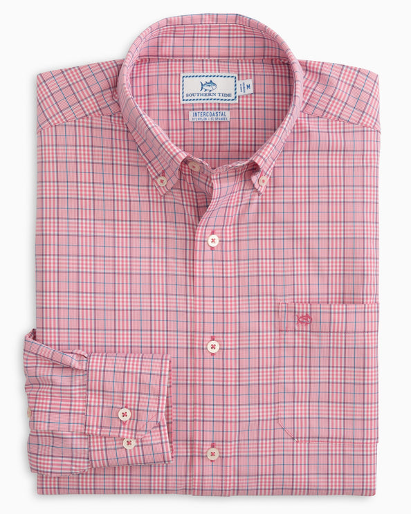 Bowline Plaid Intercoastal Performance Sport Shirt