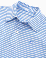 Boys Bimini Striped Performance Polo Shirt | Southern Tide