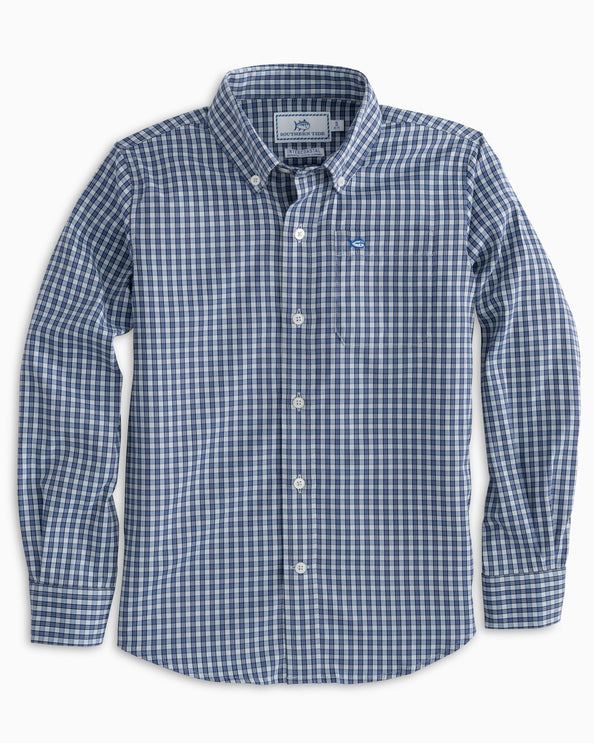 Boys Bluefin Intercoastal Check Shirt