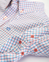 Boys Check Intercoastal Performance Button Down Shirt | Southern Tide