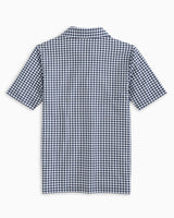 Boys Gingham Driver Performance Polo Shirt | Southern Tide