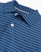 Boys First Mate Performance Striped Polo Shirt | Southern Tide