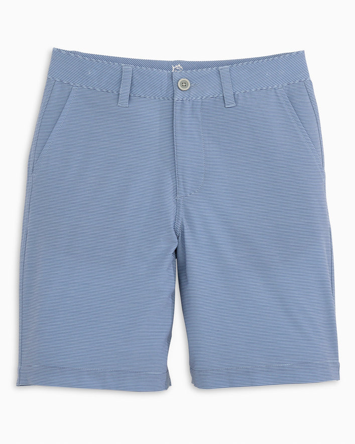 Boys Heather Striped T3 Gulf Short