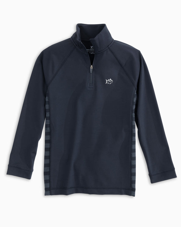 Boys Island Performance Quarter Zip Pullover