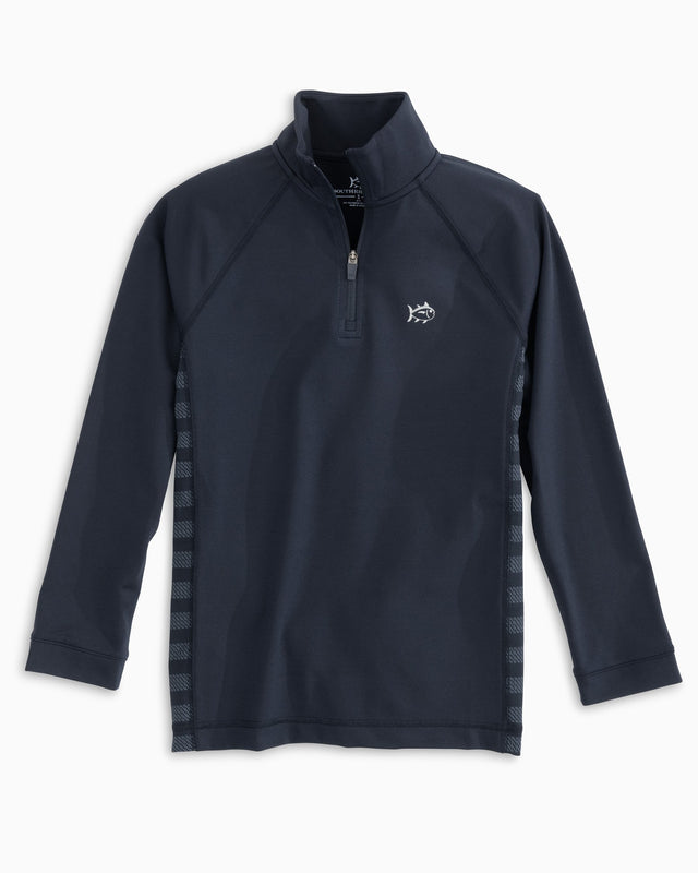 Boys Island Performance Quarter Zip Pullover | Southern Tide