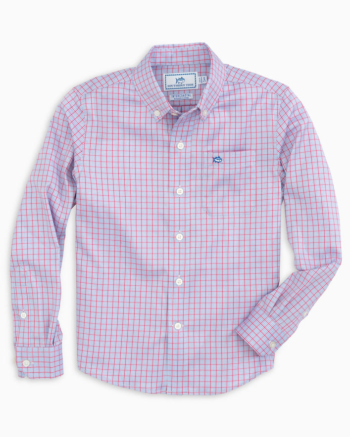 Boys Prow Intercoastal Performance Button Down Shirt
