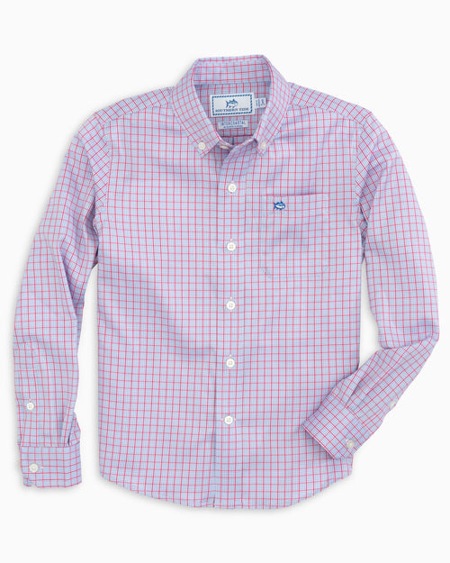 Boys Prow Intercoastal Performance Button Down Shirt | Southern Tide