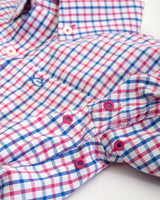 Boys Tattersall Intercoastal Performance Button Down Shirt | Southern Tide