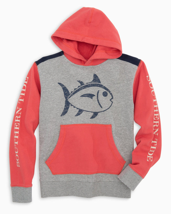 Boys Upper Deck Color Block Skipjack Hoodie