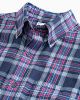 Brushed Twill Plaid Button Down Shirt | Southern Tide