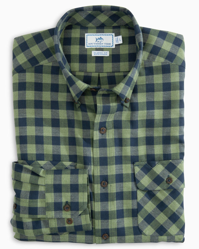 Buffalo Check Work Shirt | Southern Tide