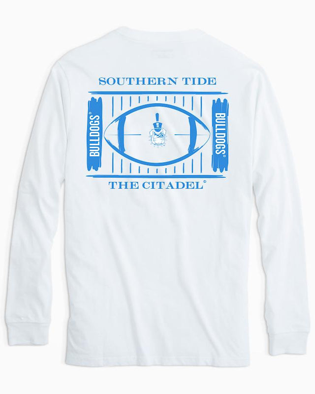 Citadel Bulldogs Stadium Long Sleeve T-Shirt | Southern Tide