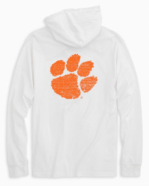 Clemson Tigers Long Sleeve Hoodie T-Shirt | Southern Tide