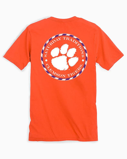 Clemson Tigers Circle Short Sleeve T-Shirt | Southern Tide