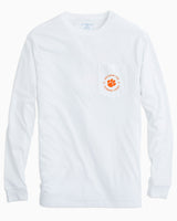 Clemson Tigers Fish Hooks Long Sleeve T-Shirt | Southern Tide