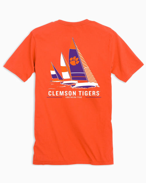 Clemson Tigers Sailboat T-Shirt | Southern Tide