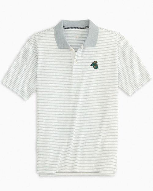 Coastal Carolina Chanticleers Pique Striped Polo Shirt | Southern Tide