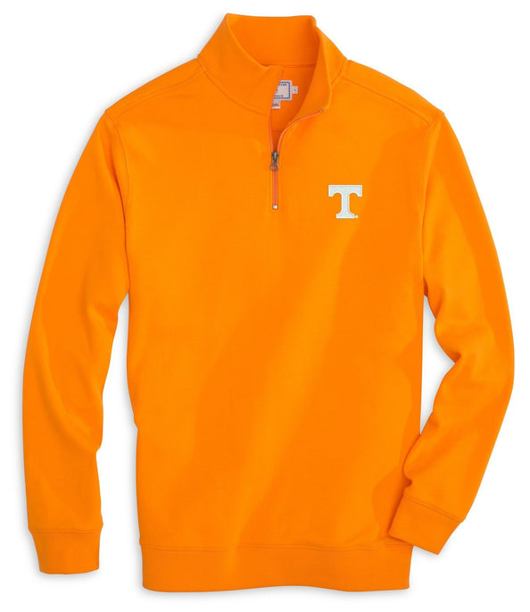Tennessee Vols Cotton Quarter Zip Pullover