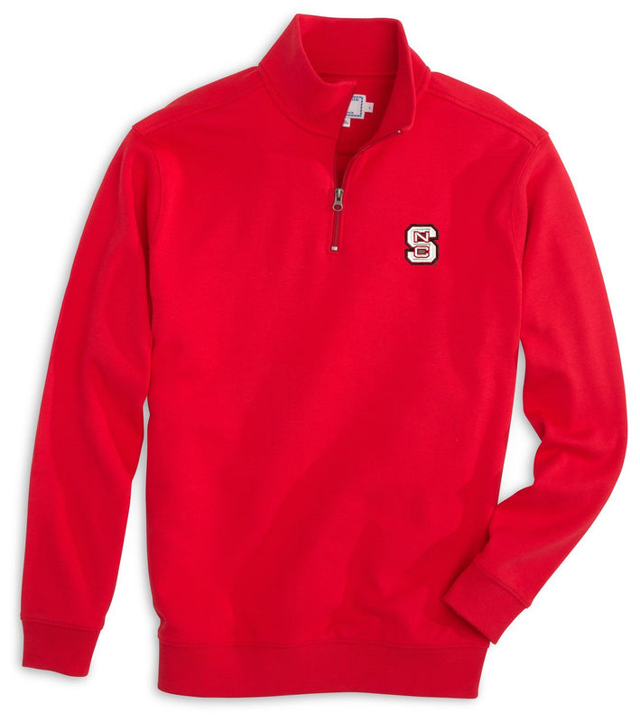 Gameday Skipjack 1/4 Zip Pullover - North Carolina State University | Southern Tide