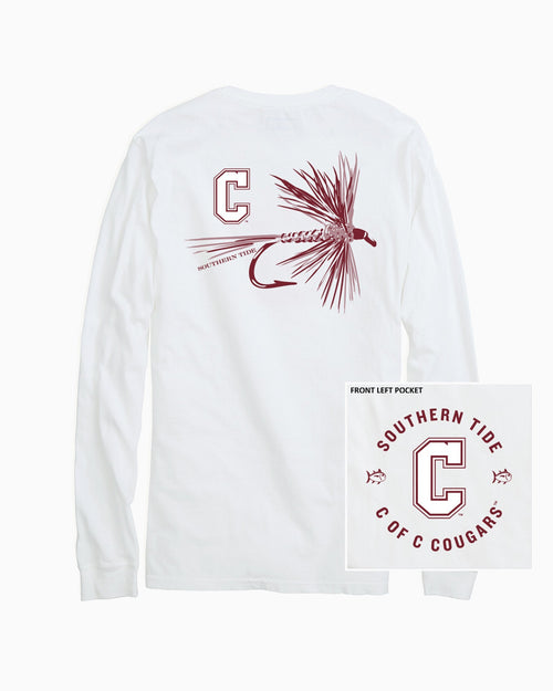 College of Charleston Cougars Fly Long Sleeve T-Shirt | Southern Tide