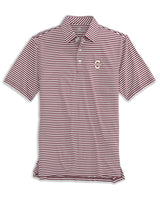 College of Charleston Cougars Striped Polo Shirt | Southern Tide