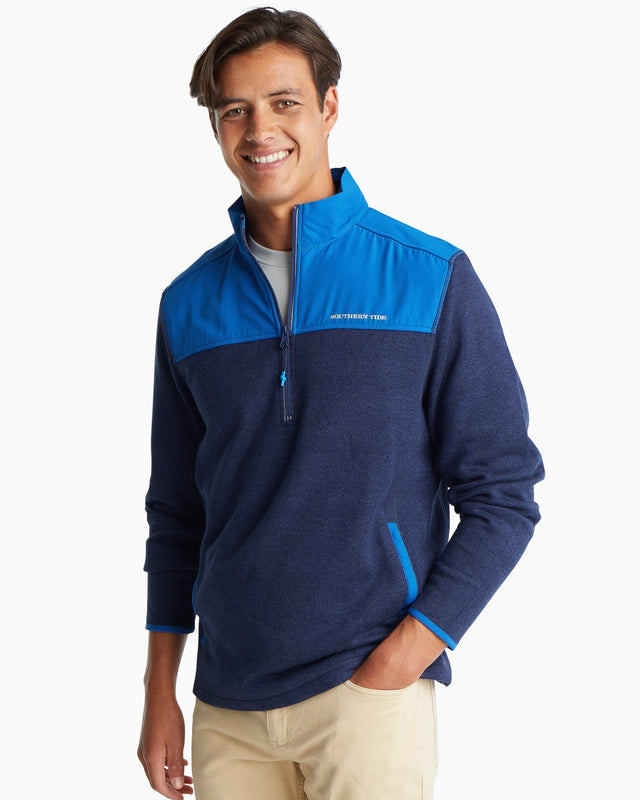 Cottage Sweater Fleece Quarter Zip | Southern Tide