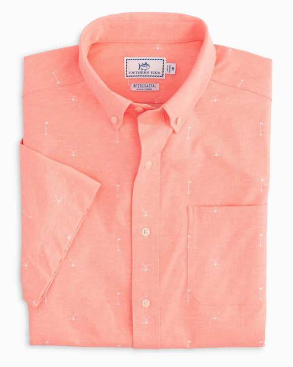 Cross Links Intercoastal Short Sleeve Sport Shirt