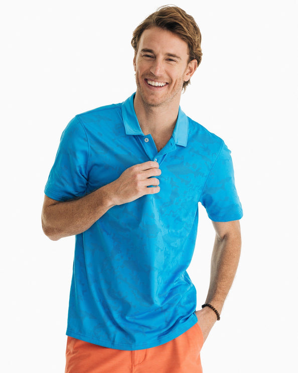 Deep Blue Sea Performance Polo