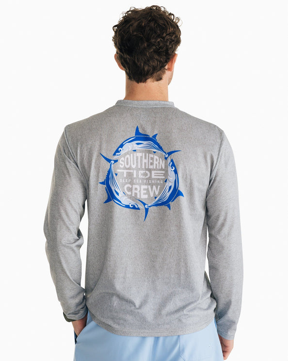 Deep Sea Fishing Performance Long Sleeve T-Shirt